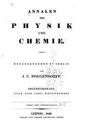 Annalen der Physik und Chemie: Ergänzungsband