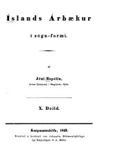 Íslands árbaekur í sögu-formi: Bindi 10-11