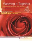 Weaving It Together 1 2 Instructors Manual