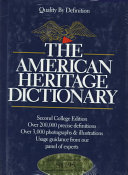 The American Heritage Dictionary PDF
