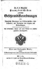Welcher die Verordnungen vom 1. Januar bis letzten December 1826 enthält: Volume 54