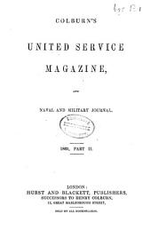 Colburn's United Service Magazine and Naval and Military Journal: Volume 26