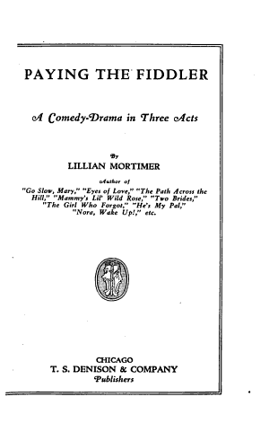 Paying the Fiddler PDF