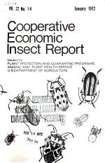 Cooperative Economic Insect Report