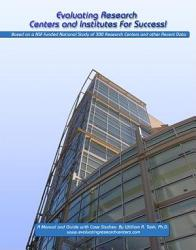 Evaluating Research Centers And Institutes For Success  Book PDF