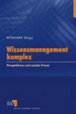 Wissensmanagement komplex PDF