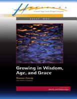 Growing in Wisdom  Age and Grace PDF