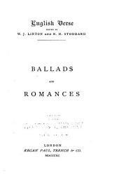 Ballads and romances