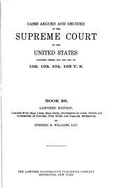 United States Supreme Court Reports: Volume 26
