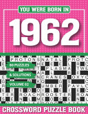 You Were Born In 1962 Crossword Puzzle Book