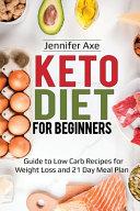 Keto Diet for Beginner's