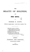 The Beauty of Holiness  and Other Poems PDF