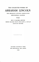 The Collected Works of Abraham Lincoln  1863 1864 PDF