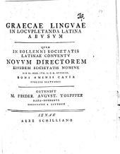 Graecae linguae in locupletanda Latina abusum