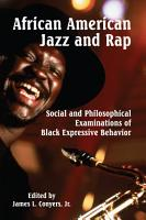 African American Jazz and Rap PDF