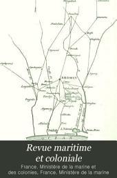 Revue maritime et coloniale: Volume119