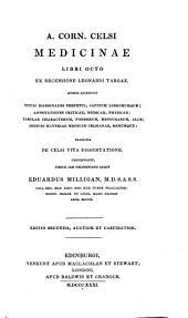 Medicinae libri octo