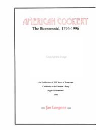 American Cookery PDF