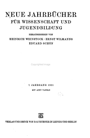 Neue Jahrb  cher f  r Wissenschaft und Jugendbildung PDF