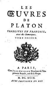 Les oeuvres: traduites en françois, avec des remarques et la vie de ce philosophe ...