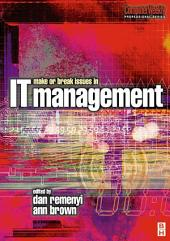Make or Break Issues in IT Management