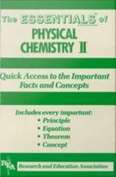Physical Chemistry II Essentials