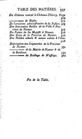 Histoire générale, ecclesiastique et civile de la ville et province de Namur: Volume3