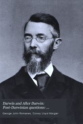 Darwin and After Darwin: Post-Darwinian questions: Isolation and physiological selection. 1897