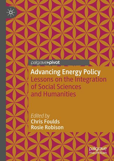 Advancing Energy Policy PDF