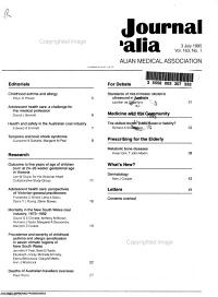 Medical Journal of Australia PDF