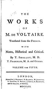 The Works of M. de Voltaire: Ancient and modern history, chap. I-CLI
