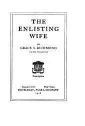 The Enlisting Wife
