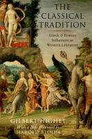 The Classical Tradition PDF