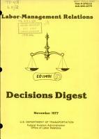 Labor management Relations PDF