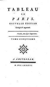 Tableau De Paris: Volume4