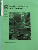 Daniel Boone National Forest  N F    Proposed Revised Land and Resource Management Plan PDF