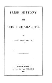 Irish History and Irish Character