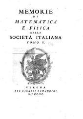 Rendiconti - Accademia nazionale dei quaranta: Volume 5