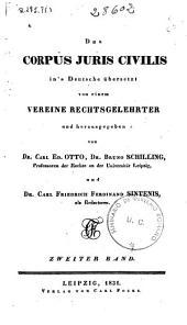 Das Corpus Juris Civilis: Bd. (1831. 1004 p.)