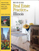 Modern Real Estate Practice in Illinois  6th Edition PDF