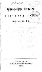 Europäische annalen: Band 8