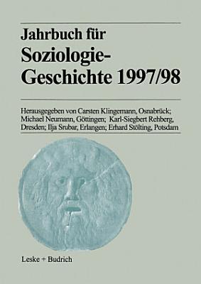 Jahrbuch f  r Soziologiegeschichte 1997 98 PDF