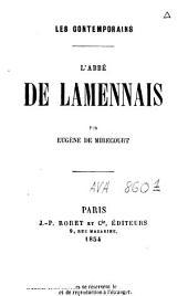 L'abbé de Lamennais
