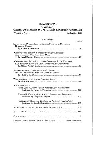 CLA Journal PDF