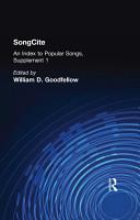 SongCite PDF