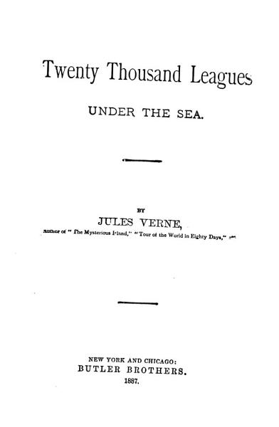 Download Twenty Thousand Leagues Under the Sea Book