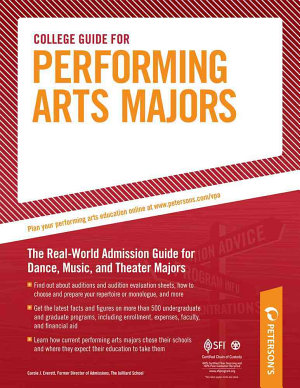 College Guide for Performing Arts Majors PDF