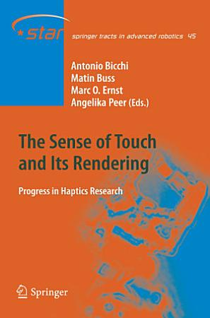 The Sense of Touch and Its Rendering PDF