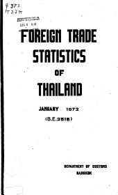 Reports of the Imports and Exports of Thailand PDF