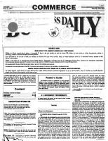 Commerce Business Daily PDF